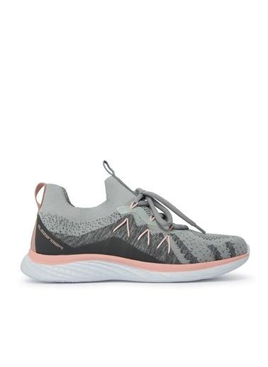 Slazenger Slazenger ARIZONA Sneaker Kadın Ayakkabı   Fuşya Gri